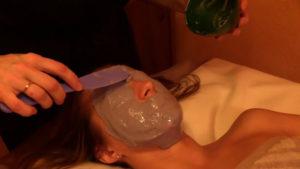Альгинатная маска Харьков в спа салоне LEO